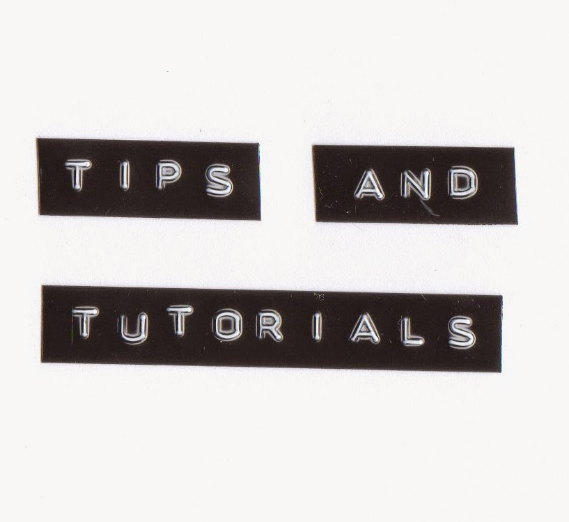 tips, 'how to' & ideas